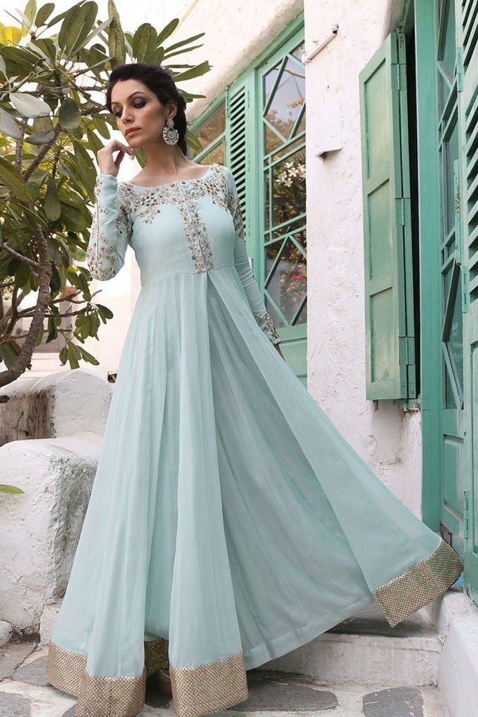 Soft-Blue-Anarkali-Suits-Designs-Online-Engagement-Ceremony