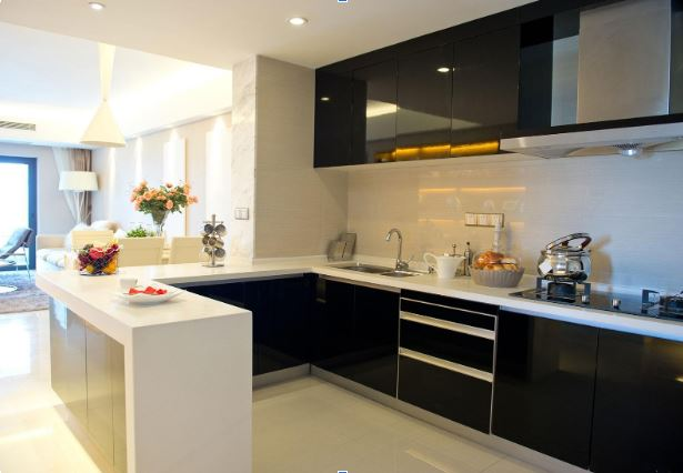 u-shape-modular-kitchen